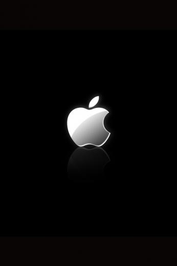 iPhone Wallpapers iPhone 4S Wallpaper with Apple Logo