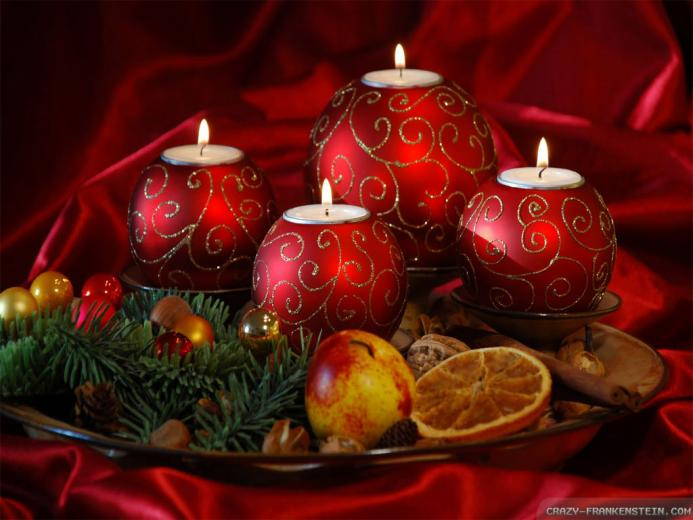 Wallpaper Christmas candles wallpapers