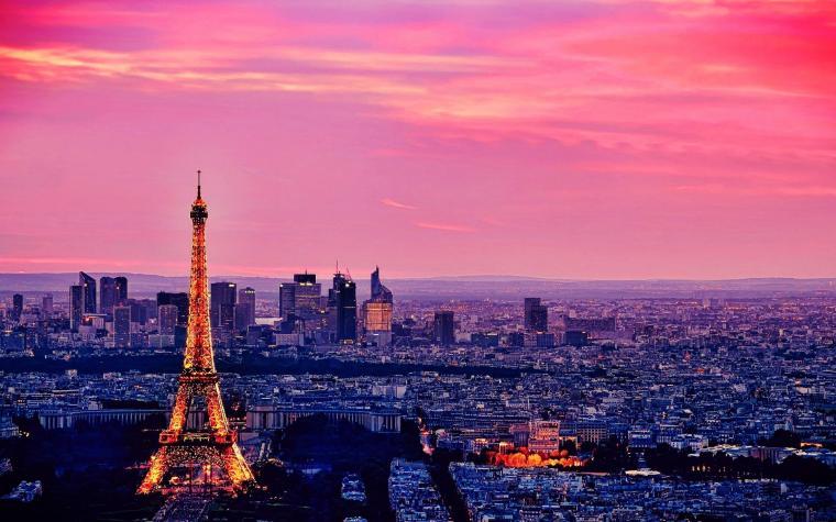 Eiffel Tower Beautiful Paris Wallpaper HD Wallpaper WallpaperLepi