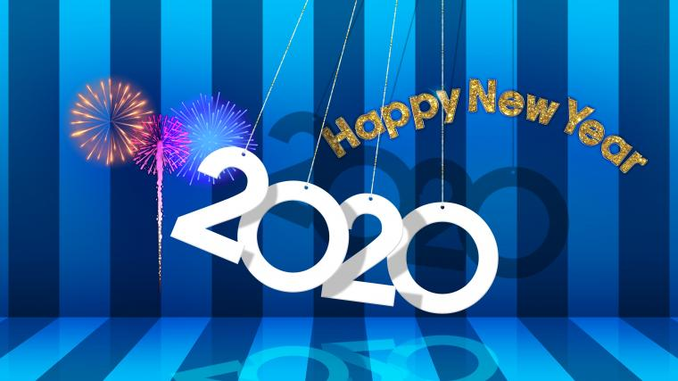 1080x1920 New Year 2020 Iphone 7 6s 6 Plus and Pixel XL One