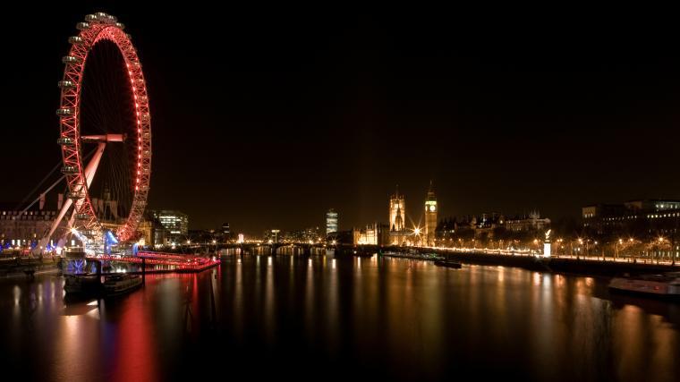 Night London City Wallpaper