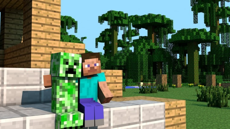 minecraft hd desktop backgrounds 1920x1080 creeper steve