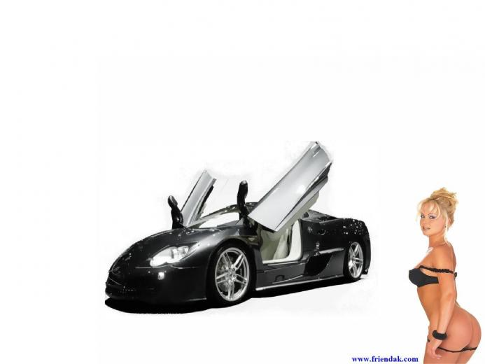Desktop wallpaper downloads concept car and girl high resolution