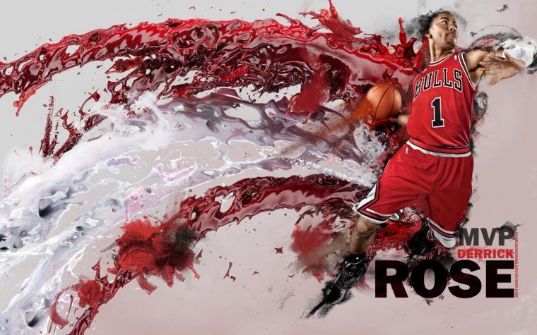 NBA Wallpapers Chicago Bulls   Derrick Rose
