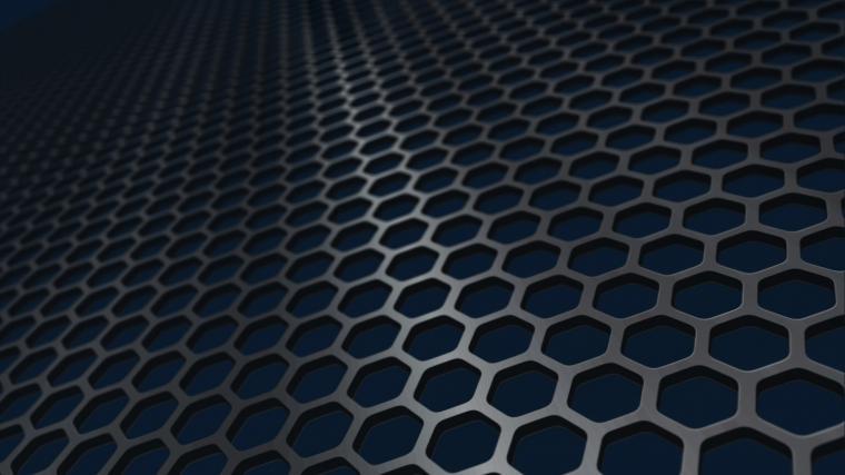 Iron honeycomb mesh Mac Wallpaper Download AllMacWallpaper