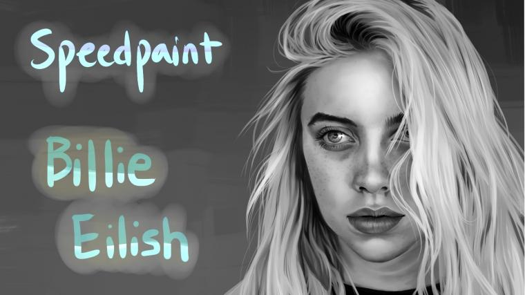 Speedpaint   Billie Eilish