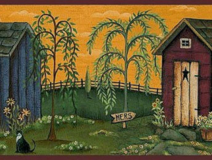 Primitive Country Wallpaper And Borders Background Wallpapers