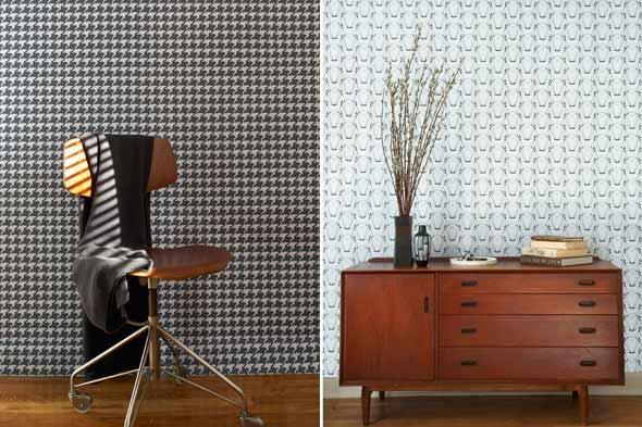 Fabric Wallpaper Temporary Wallpaper