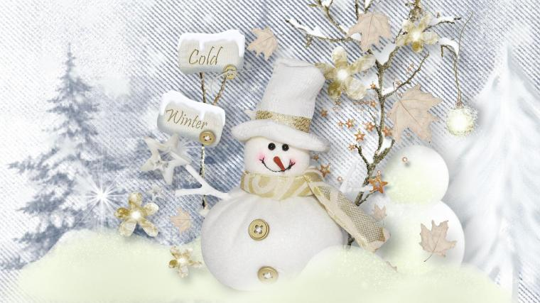 Winter Snowman Wallpapers