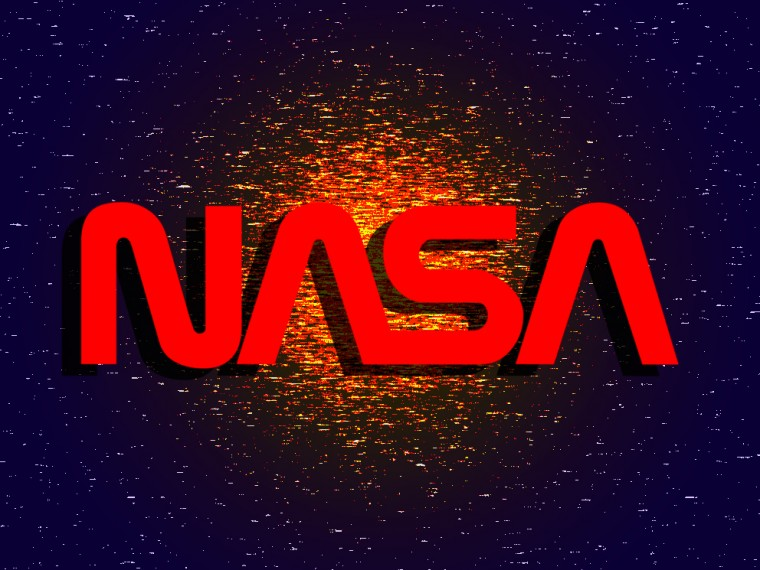 Old Nasa Logo The old nasa logo is made of
