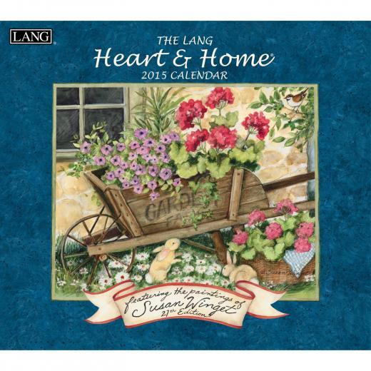 Lang Heart Home Calendar 2015 1001718 Lang Calendars Americana
