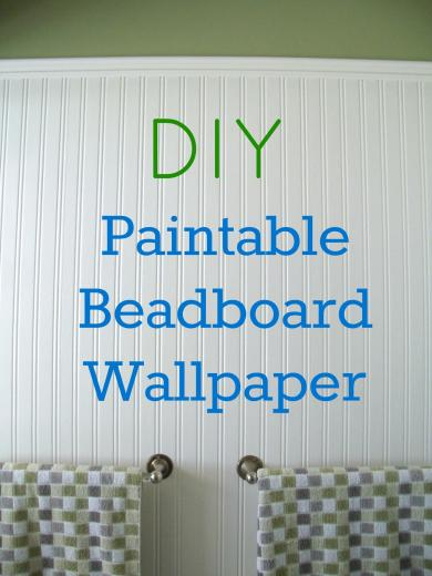 How to Install Beadboard Paintable Wallpaper