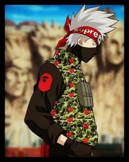 Naruto Supreme Nike Wallpapers   Top Naruto Supreme Nike