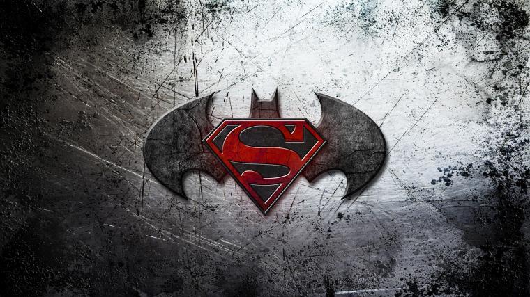 Batman vs Superman Logo Wallpaper in High Resolution at Movies
