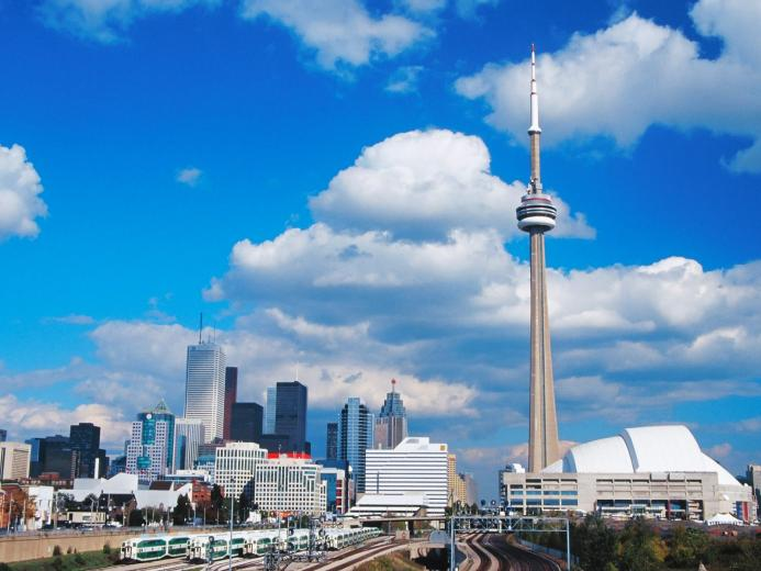 Toronto Skyline Canada 1   Canada Photography Desktop Wallpapers