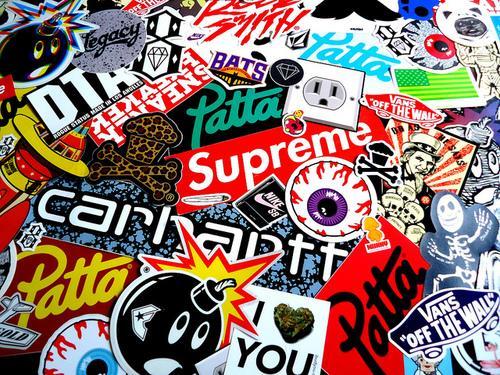 stickers vans supreme vans stickers supreme stickers