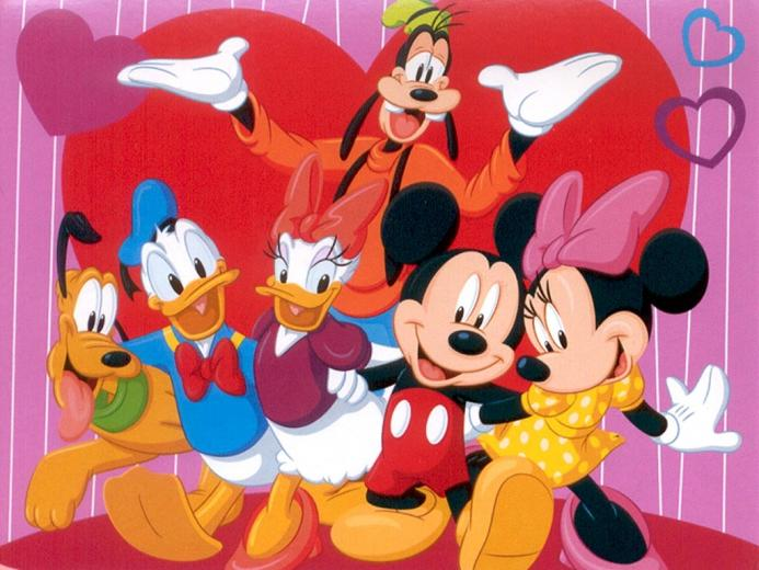 Mouse Clubhouse Gang Wallpaper 1024 X 768 30086 HD Wallpaper