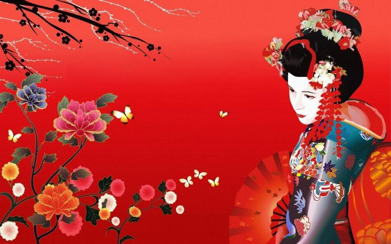 geisha illustration wallpaper maiko geisha wallpaper geisha wallpaper