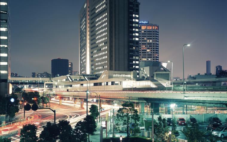 Tokyo at night Mystery Wallpaper