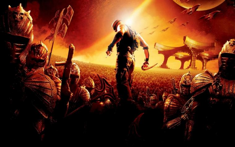 riddick the chronicles of riddick vin diesel 1920x1080 wallpaper Art