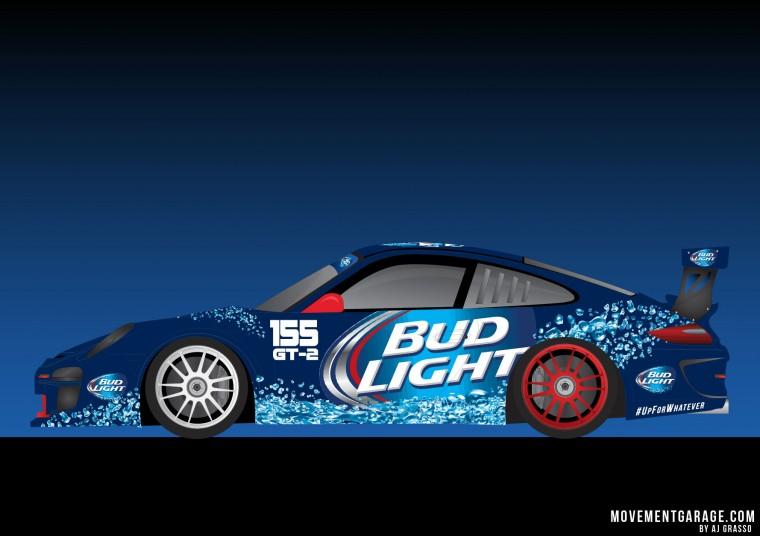 Bud Light GT2 Porsche