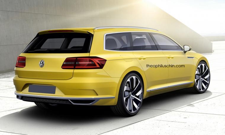 VW Arteon Shooting Brake Rendering Shows Everything Thats Wrong