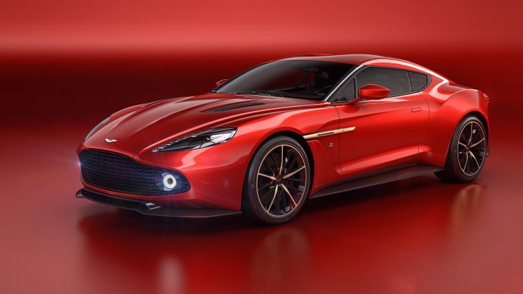 Aston Martin Vanquish Zagato Wallpapers in jpg format for