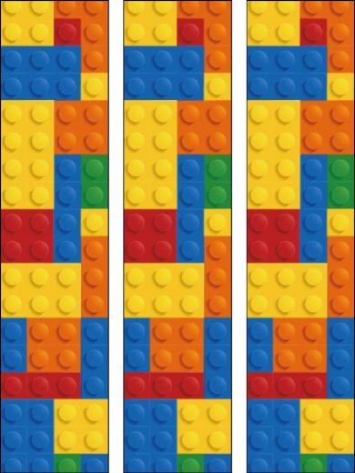 Lego Border Lego edible cake ribbon
