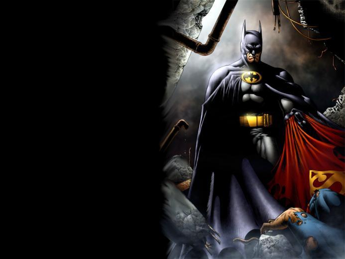Vs Round 1 Batman Vs Superman By AmeSabishii image photo