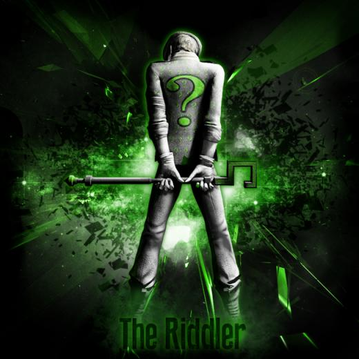 The Riddler Wallpaper Wallpaper the riddler by