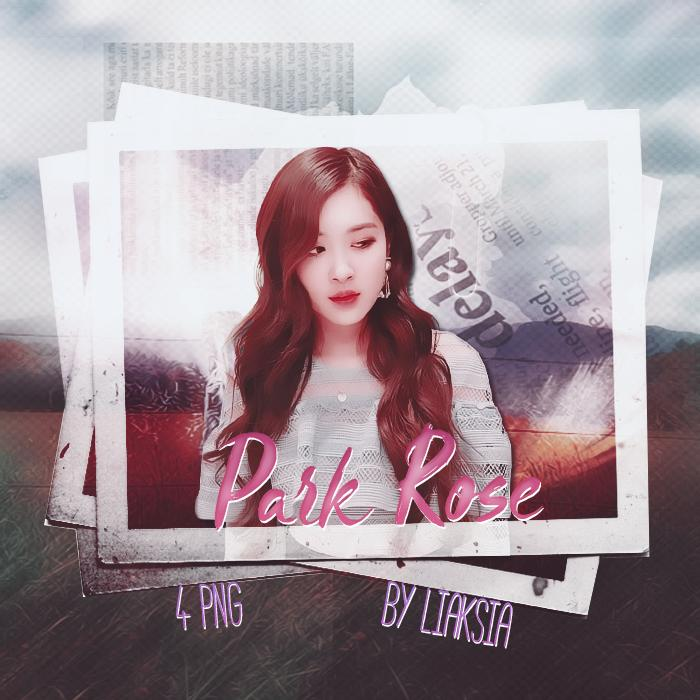 BLACKPINK Rose 4 PNG PACK 8 by liaksia by liaksia on