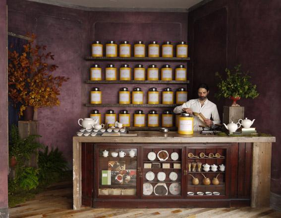 Bellocq tea shop London Lifestyle Wallpaper Magazine