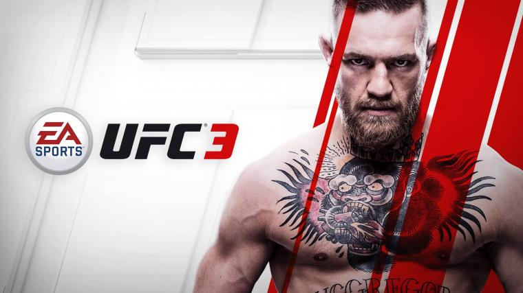 EA Sports UFC 3 Conor Mcgregor HD Wallpaper Background Image