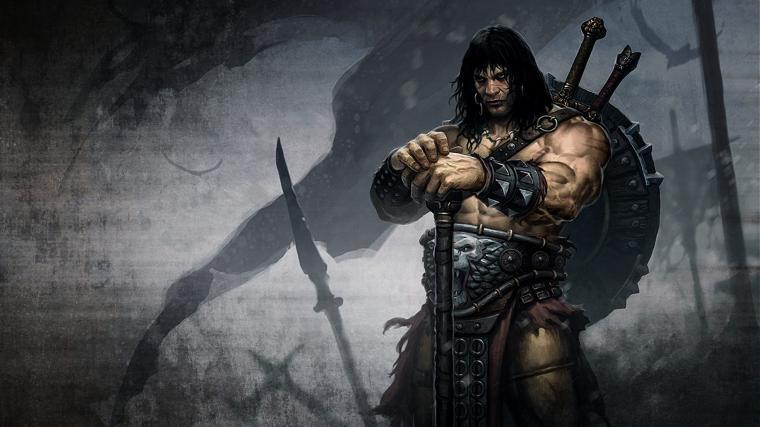 Wallpapers fantasy art artwork Conan the Barbarian