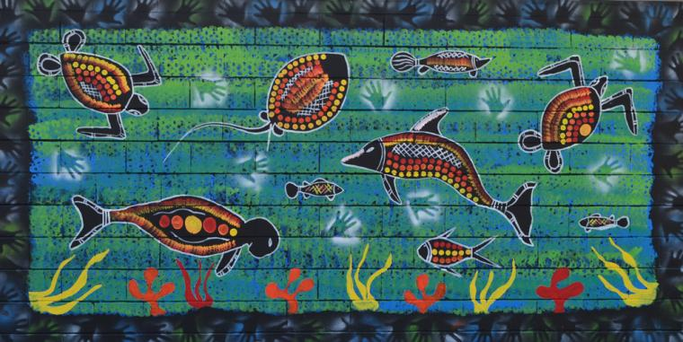 Sea Animals Border The Border Surrounding The Sea