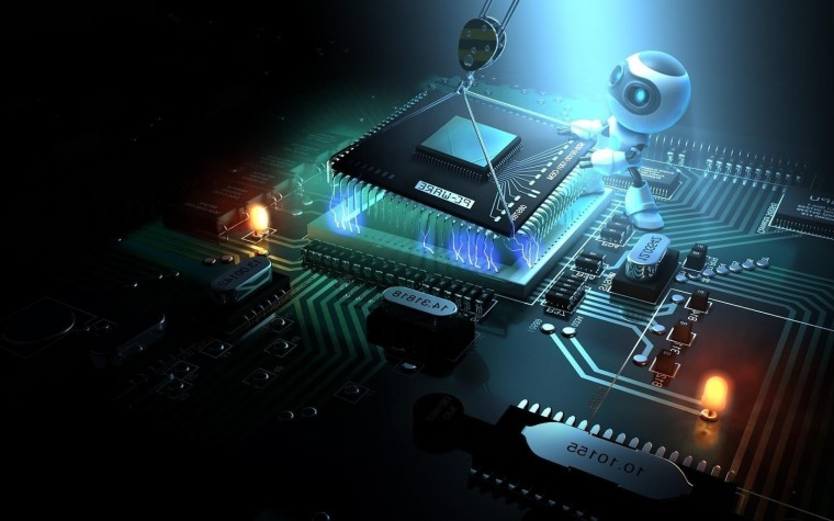 built by 3d robot windows 8 desktop wallpaper 1920x1200