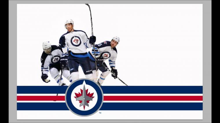 Speedpaint Winnipeg Jets wallpaper