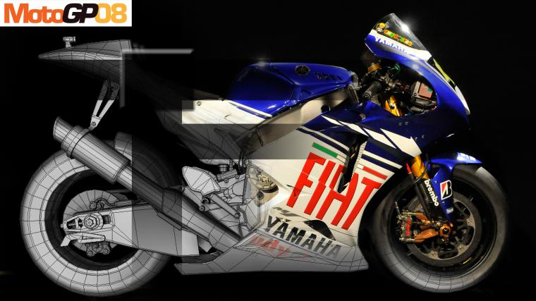 Moto gp game background bike 1214
