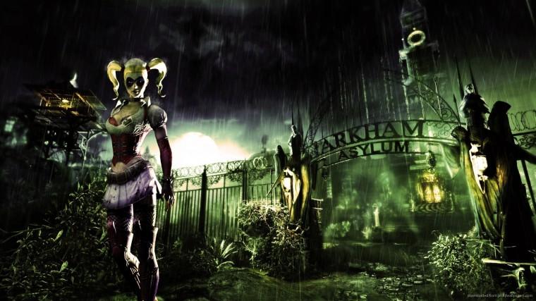 1920x1080 Harley Quinn In Batman Arkham Asylum Wallpaper