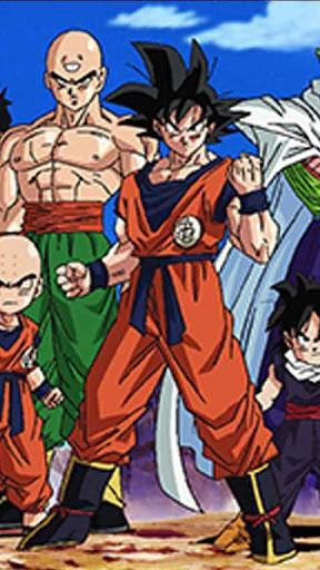 Dragon Ball Z Live Wallpaper for android Dragon Ball Z Live Wallpaper