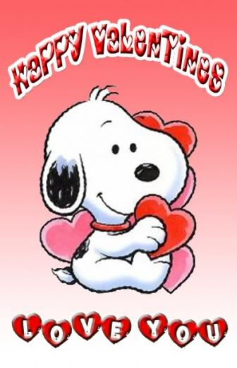Snoopy Valentines Day Pictures