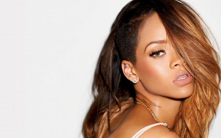singer girl Rihanna portraint 2015 hd wallpaper