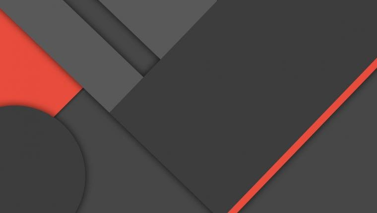 MinFlat] Dark Material Design Wallpaper 4K by DaKoder