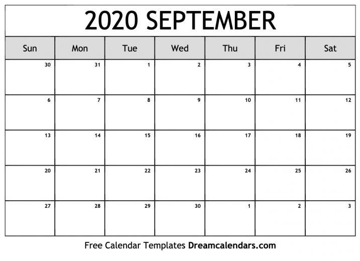 September 2020 Calendar Wallpapers   Top September 2020
