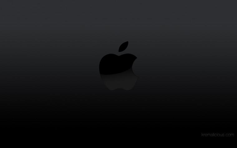 05  Apple Mac Wallpaper in Blue Background