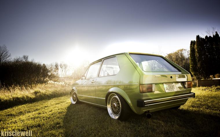 Volkswagen Golf Mk1 Wallpaper and Background Image 1680x1050