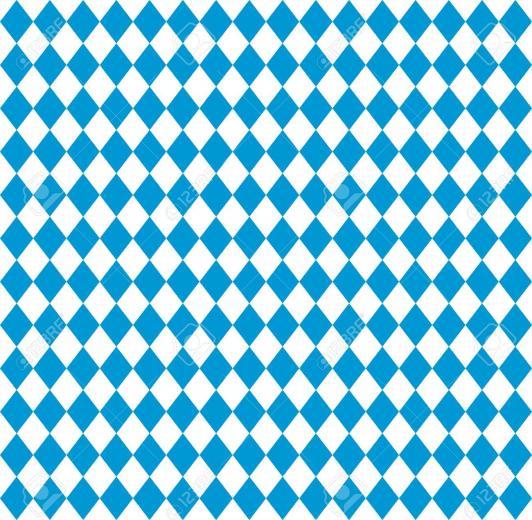 Oktoberfest Bavarian Flag Symbol Background Royalty Cliparts