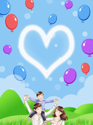 Family Background Of Parents And Children Background Character