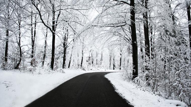 Winter Road Wallpapers HD Wallpapers