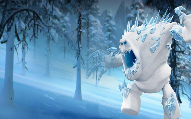 Frozen Monster Wallpaper HD Background